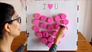 Sevgiliye Romantik Sürprizler Ve Hediyeler | Kendin Yap Sevgililer Günü Oyunu