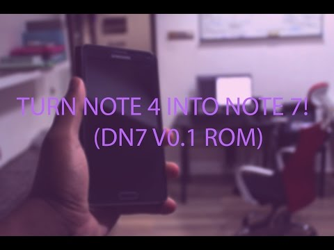 Galaxy Note 4 FULLY Converted Into S8/Note 7! - смотреть
