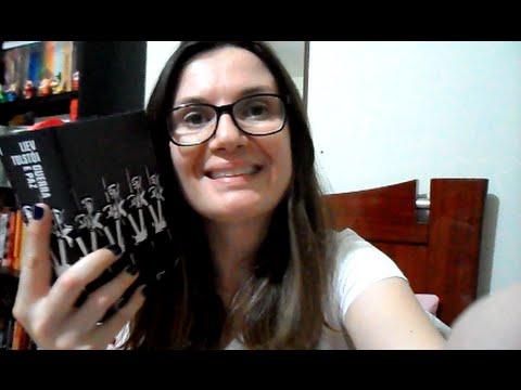 Lendo Guerra e Paz #2 (ate? p.157,  cap. XVII) + Pilha de Tolstói :) | Tatiana Feltrin