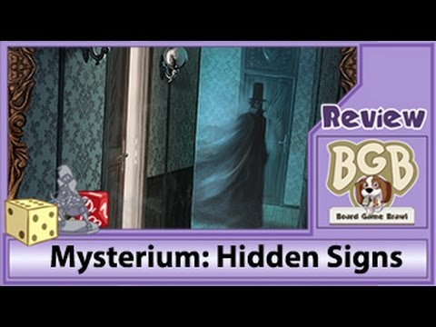 Board Game Brawl Reviews - Mysterium: Hidden Signs