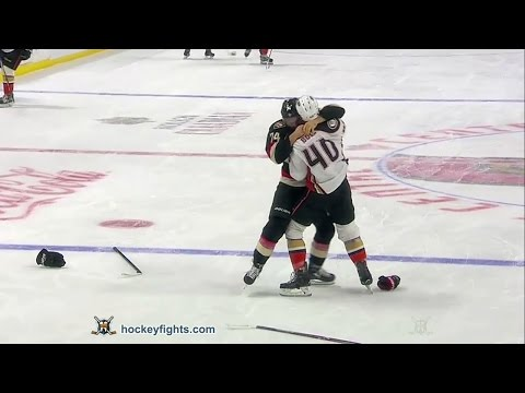 Mark Borowiecki vs. Jared Boll