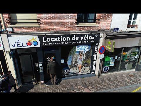 L'Agence VelOO de Transurbain Evreux présentée par DronEure