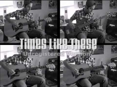 Times Like These - Jack Johnson (Instrumental Cover)