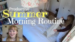 Productive Summer Morning Routine! (ad)