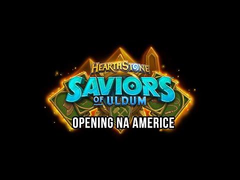 Saviors of Uldum - Opening na Americe
