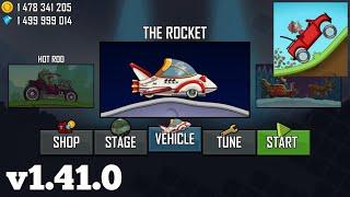 Hill Climb Racing New Vehicle | The Rocket Unlocked