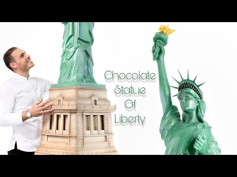 Building the Statue of Liberty with Chocolate