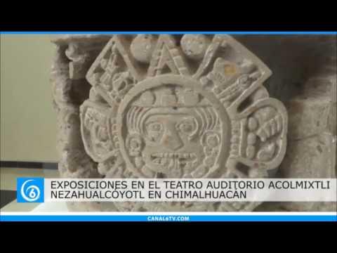 Se presentan dos exposiciones de esculturas en el Auditorio Nezahualcóyotl