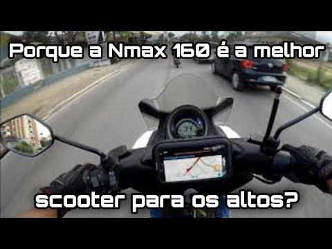 Yamaha Nmax 160 Ep #81 - A Nmax é boa para pessoas altas?