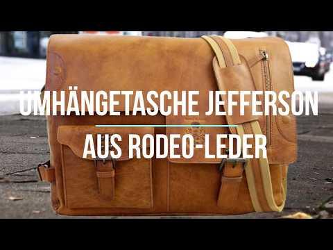 Herren Umhängetasche aus Leder - JEFFERSON - Baron von Maltzahn