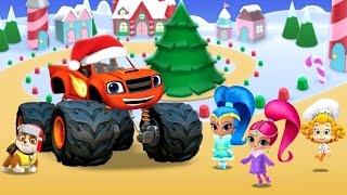 Nick JR Christmas Festival - PAW Patrol - Bubble Guppies - Cartoon Movie Game for Kids HD