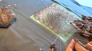 Video #75 Large Bobbin Lace Project