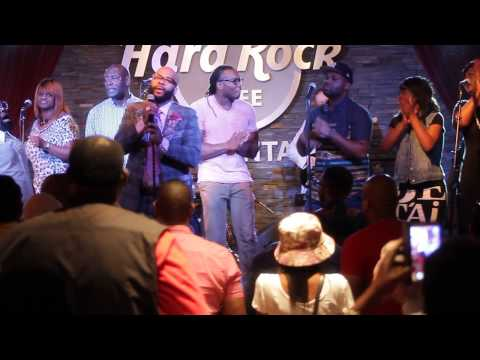 James Hall and Worship & Praise Live at the Hard Rock Cafe GMWA 2014 Gospel Brunch Praise Break