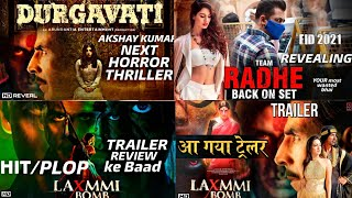 Durgawati Movie Laxmmi Bomb Akshay Kumar Bhumi Pednekar Radhe Salman Khan Bollywood Movie #akahaykum