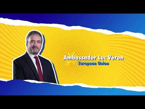 Sama-Sama Together EU Talk. Ambassador Luc Véron