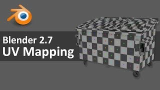 Blender 2.7 UV Mapping 2 of 4