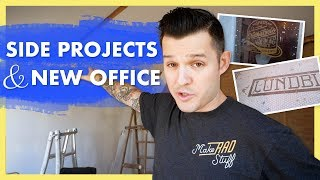 Building an Office & Launching a Side Project | Jesse Showalter Vlog