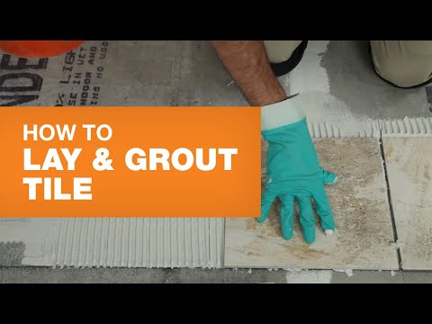 How to Install Ceramic or Porcelain Tile