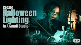 Halloween Lighting in a Small Space: Take and Make Great Photography with Gavin Hoey
