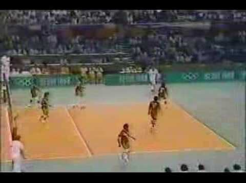PERU VS USSR SEOUL 88 NBC TV PART 2
