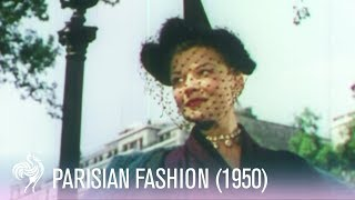 In Style: Parisian Fashion (1950s) | Vintage Fashions
