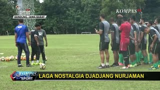 Persib Bandung vs PSMS Medan, Laga Nostalgia Djajang Nurjaman