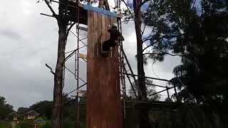 preview picture of video 'Abseiling - Teambuilding in Sungai Basong'