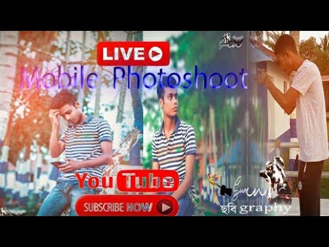 Live. Mobile =?Photoshoot... if you like this video please Subscribe my YouTube channel..=O=O=O