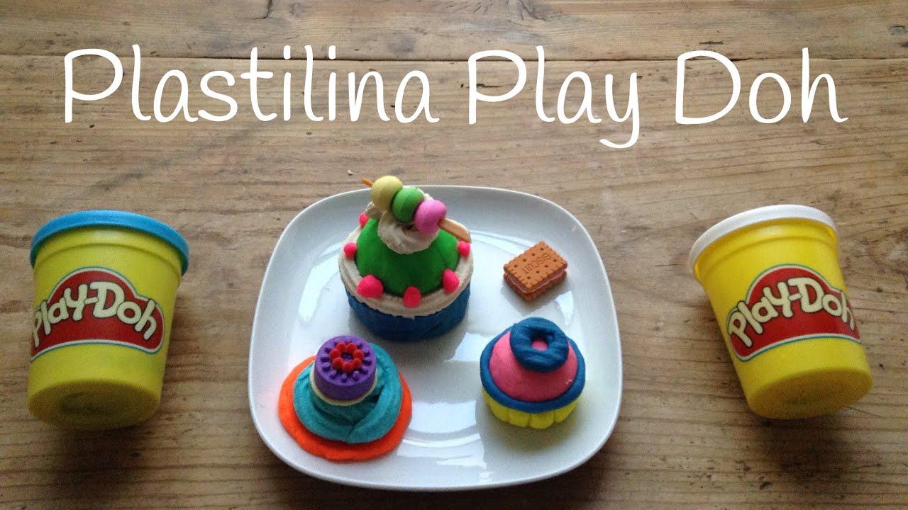 Play Doh CUPCAKE en español | Figuras de PLASTILINA para niños