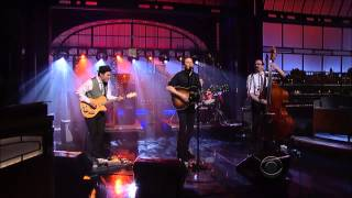 Josh Ritter and The Royal City Band - Joy to You Baby on David Letterman 3/12/13