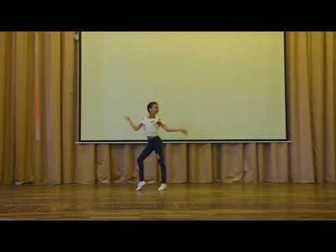 Станцевала на ЛИНЕЙКЕ танец ПЕРЕМЕНА !