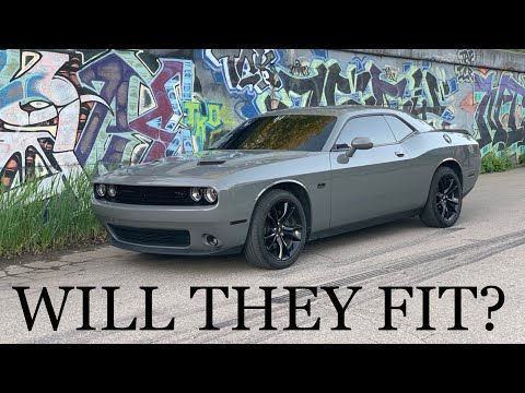 Will 275 tires fit on my Dodge Challenger RT stock wheels!?!?