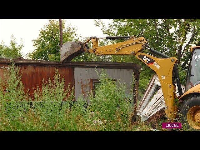 В Ангарске снесли аварийные дома