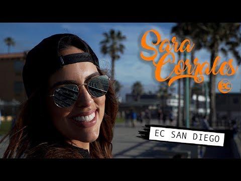 Sara Corrales estudia ingles en EC San Diego (esl, ielts)