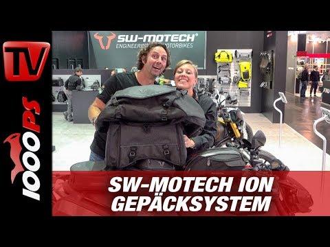 SW-MOTECH ION Tankrucksack und Satteltasche 2019 - Motorrad Gepäcksystem - INTERMOT 2018
