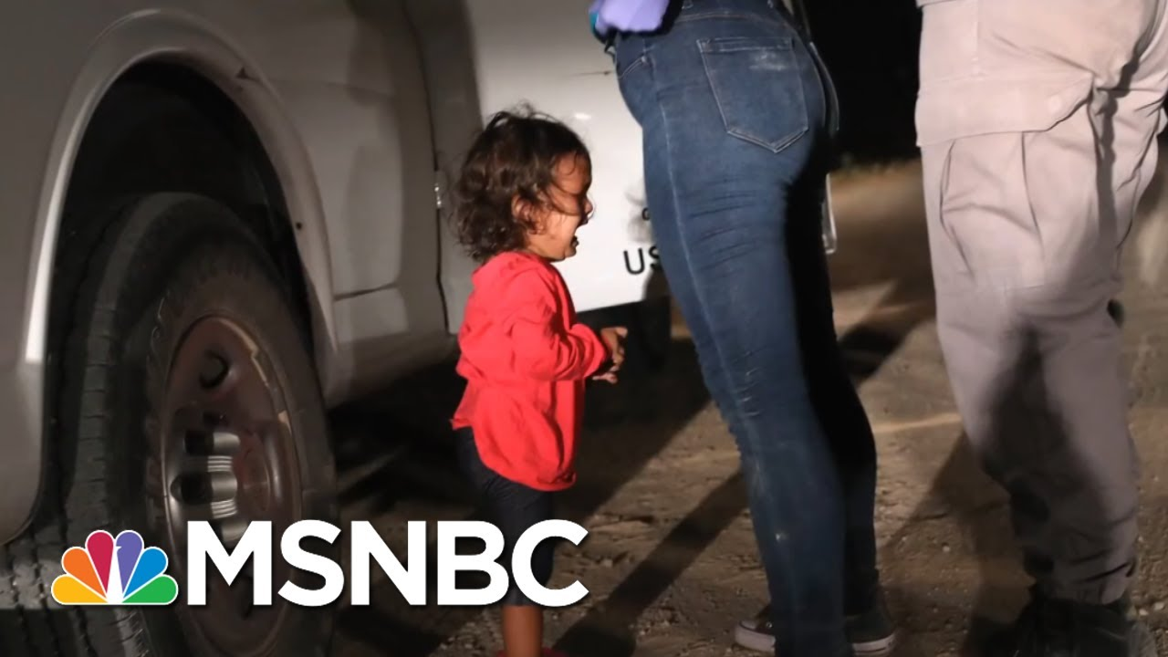 Proof: President Trump Is Lying About His Child Migrant Policy | The Beat With Ari Melber | MSNBC thumbnail