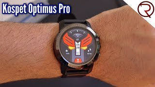 Kospet Optimus Pro Dual - Full Android Smartwatch