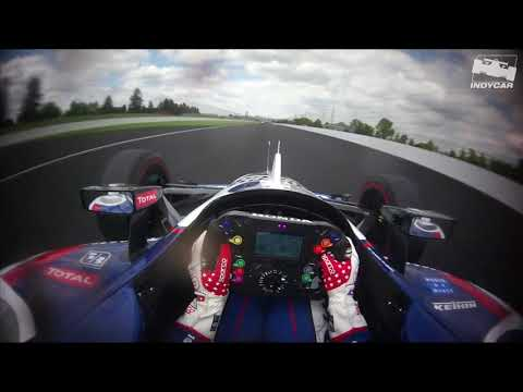 Visor Cam // Graham Rahal during 2019 Indy 500 practice