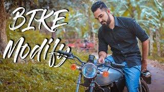 modified cafe racer bike in bd - TH-Clip