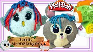 Play Doh & Gang Słodziaków • Makaronowe fryzury • bajki dla dzieci