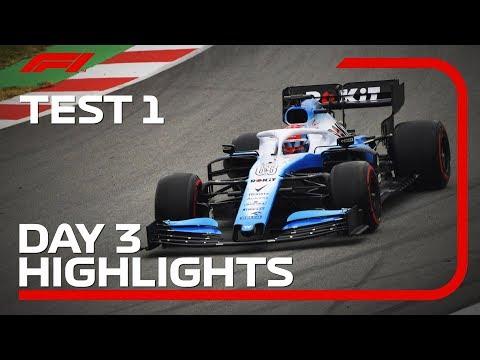 Day 3 Highlights   F1 Testing 2019