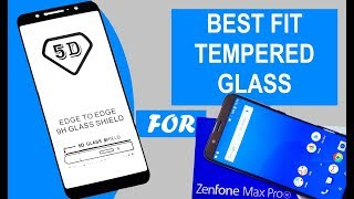 Best Fit 9H Tempered Glass for Asus Zenfone Max Pro M1