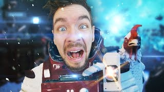SUBNAUTICA IN SPACE! | Breathedge #1