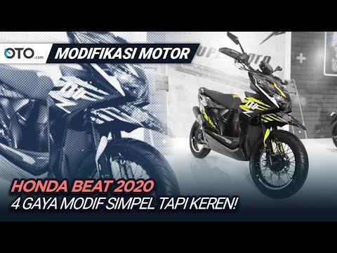 Honda Beat 2020 | Modifikasi Motor | 4 Tema Inspiratif | OTO com