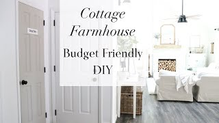DECORATING IDEAS ON A BUDGET | EASY HOME DECOR DIY | COTTAGE FARMHOUSE DECOR | HOUSE + HOLM