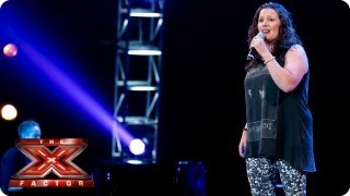 Sam Bailey Sings Clown By Emeli Sande    Bootcamp Auditions    The X Factor 2013