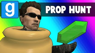 Gmod Prop Hunt Funny Moments - Ohmwrecker