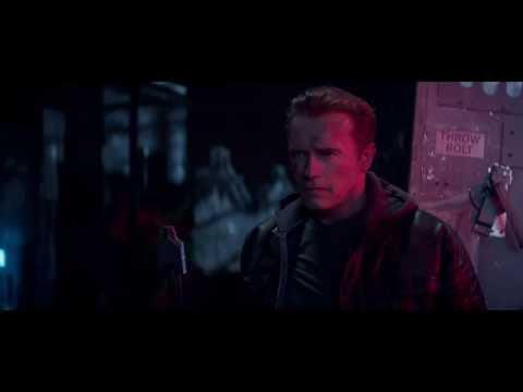 《魔鬼終結者5:創世契機》片段搶先看,T-800的冷笑話