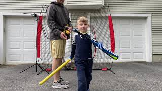 The Hitting Routine I Do With My 5 Year Old Son [Baseball Hitting Drills For Youth]