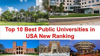 Top 10 Best Public Universities in USA | American Public University Ranking